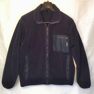 Patagonia Mens Blue Fleece Jacket Size Medium